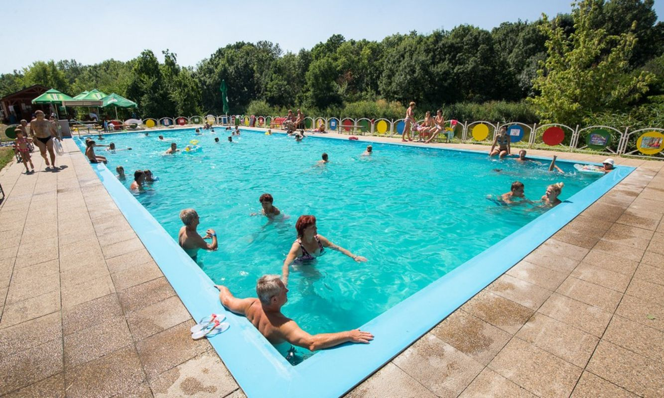 Swimming Pool Travel : Thermal swimming pool thermalpark nitrava slovakia travel
