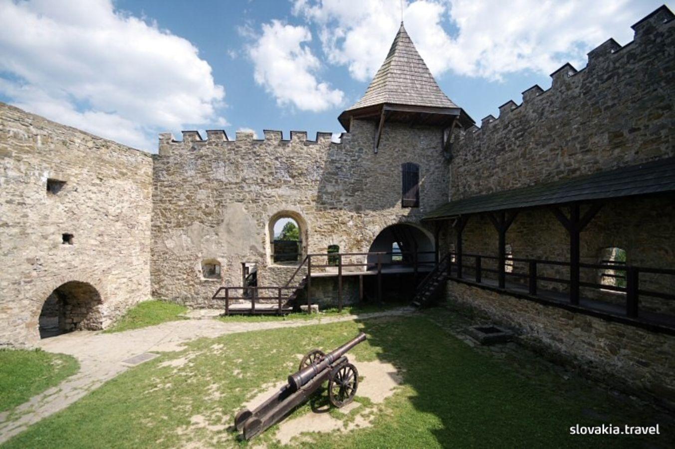 The Ľubovňa Castle - Slovakia.travel