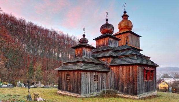 Wooden churches - Slovakia travel