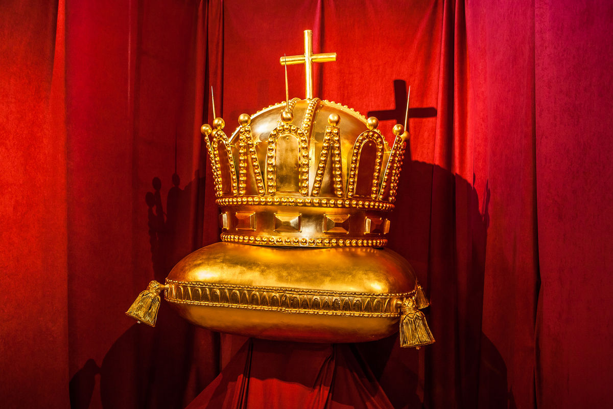 Coronation Ceremonies Slovakiaavel