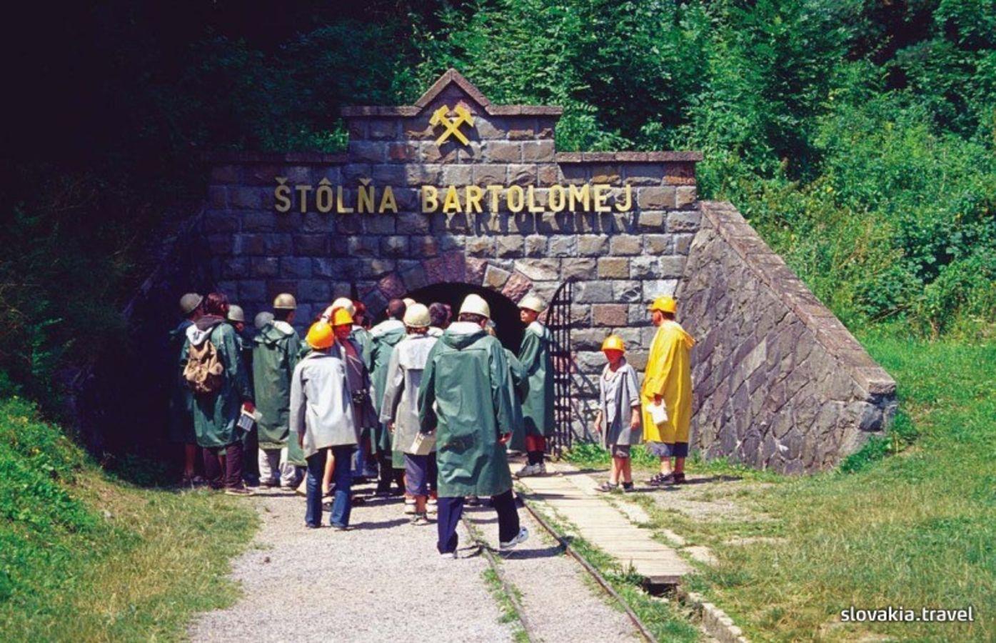 Mining monuments in Banská Štiavnica - Slovakia travel