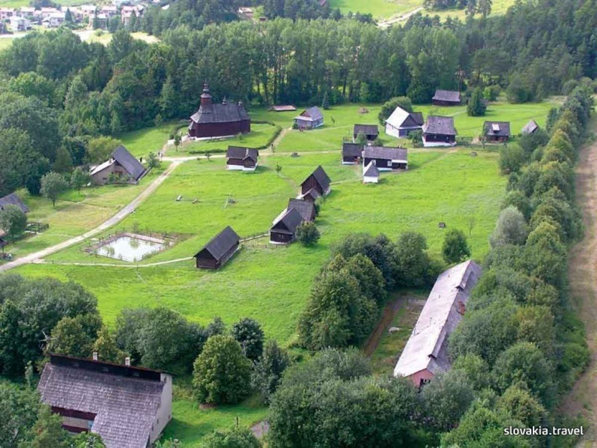 Ethnographic natural exposition - open-air museum in Stará