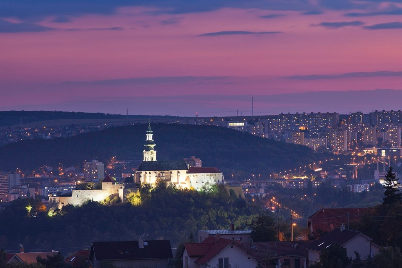 Nitra, Towns to See in Slovak