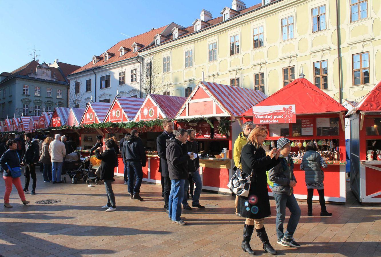 c84af019f Staromestské vianočné trhy - Slovakia.travel