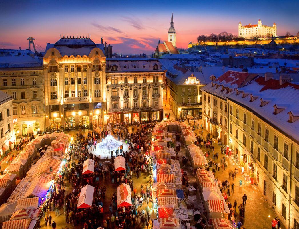 Christmas Bratislava.Bratislava Christmas Fair Slovakia Travel