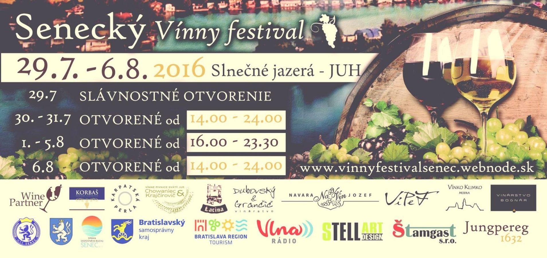 Senecký vínny festival - Slovakia.travel 4ef598010bd