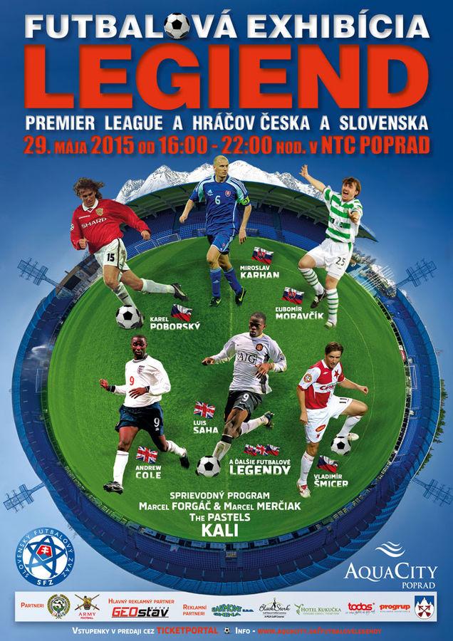 71301faab0a90 Zápas futbalových hviezd v Poprade - Slovakia.travel