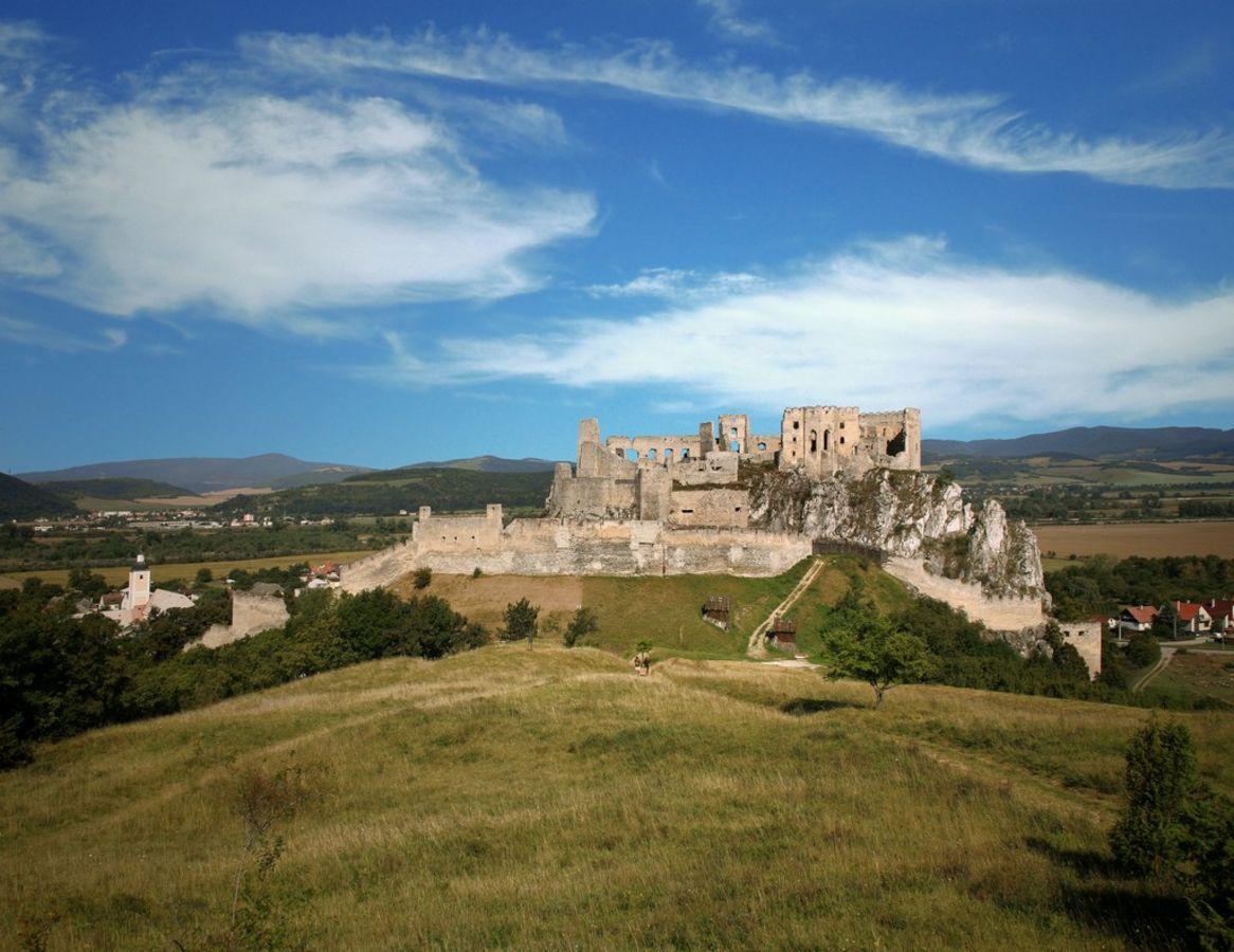 The castle of beckov slovakia.travel
