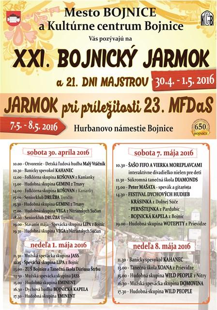 ed4ac87b2 Bojnický jarmok a Dni majstrov - Slovakia.travel